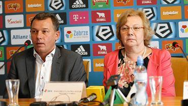 Tomasz Młynarczyk i Małgorzata Mańka-Szulik