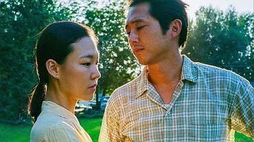 Zdjęcie z planu filmowego 'Minari'