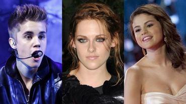 Justin Bieber, Kristen Stewart, Selena Gomez