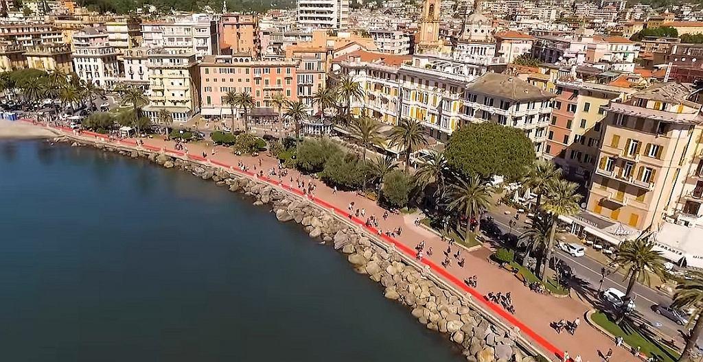 Najdłuższy na świecie czerwony dywan ma ponad 8 km i jest dostępny dla wszystkich