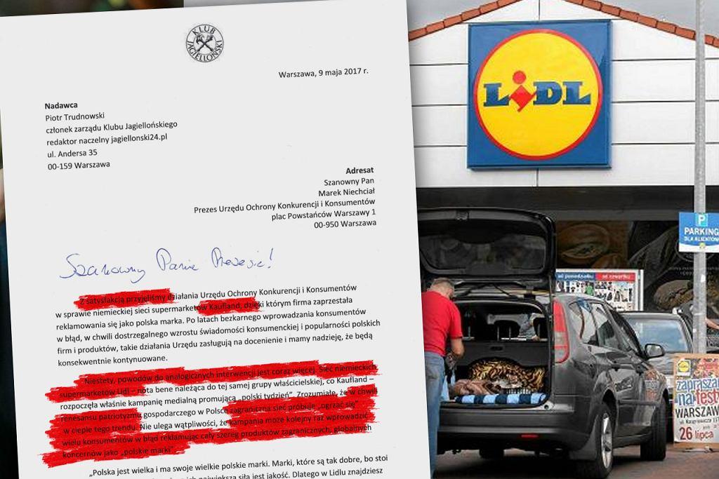 Klub Jagielloński interweniuje w sprawie akcji promocyjnej Lidla