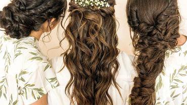 Boho fryzura