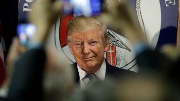 Donald Trump podczas spotkania z przedstawicielami Polonii 28 września w Chicago