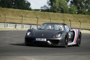 Porsche 918 Spyder | Test | Pierwsza jazda | Ekologiczna brutalność
