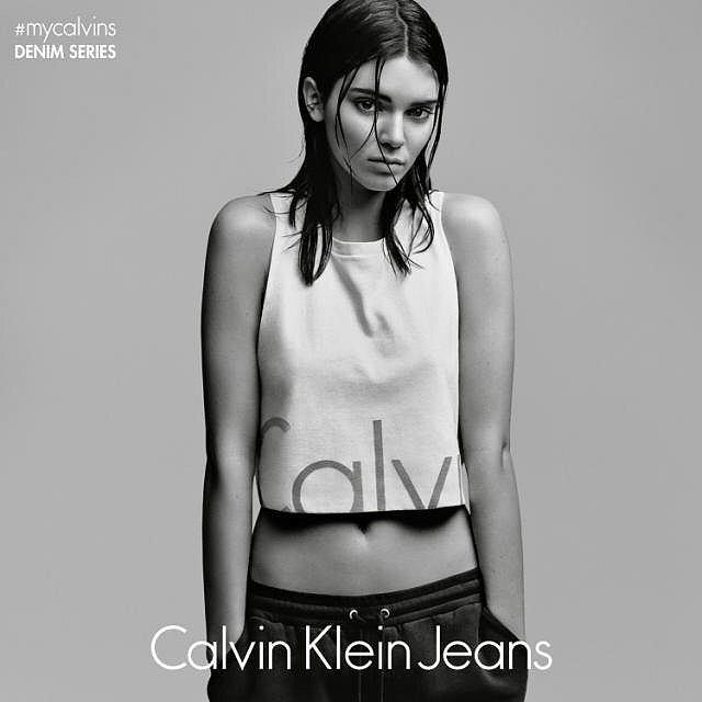 Calvin Klein Jeans - kendall jenner