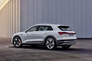 Audi e-tron 50 quattro - tańsza i słabsza odmiana elektrycznego SUV-a