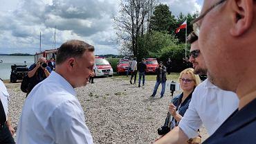 Andrzej Duda w Szeligach
