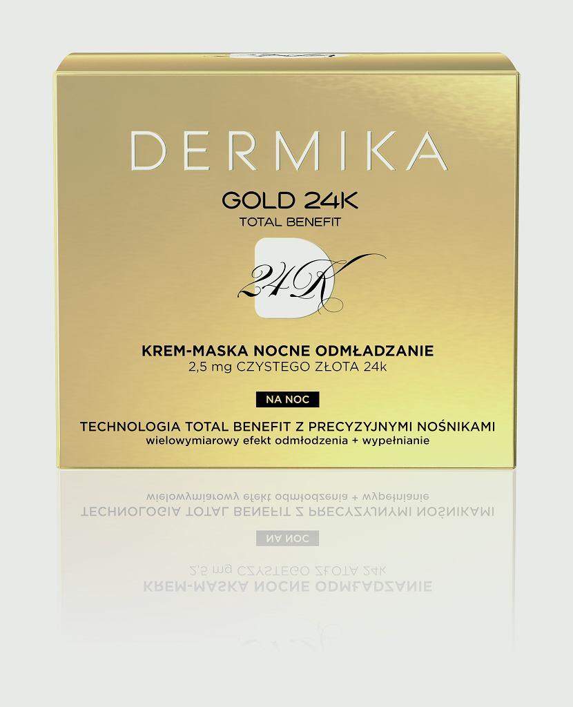 GOLD24k Krem-Maska na NOC
