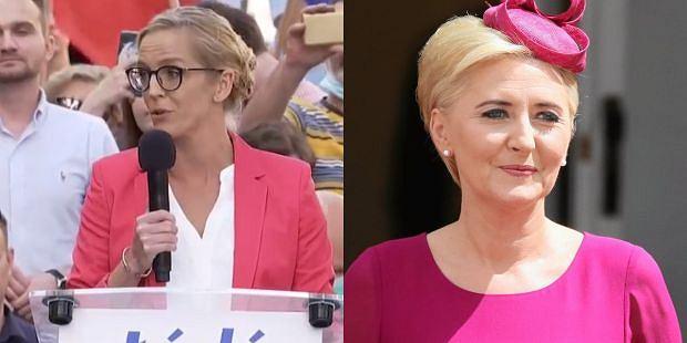 Małgorzata Trzaskowska. Agata Kornhauser-Duda