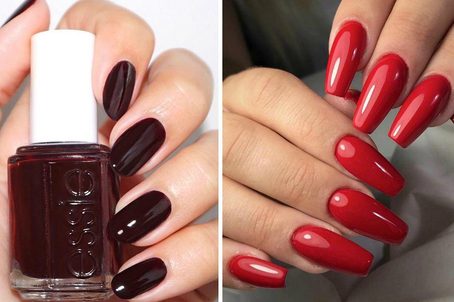 Czerwone paznokcie do czerwonej sukienki
