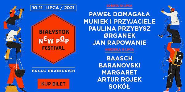 Białystok New Pop Festival 2021. Harmonogram artystów z podziałem na dni