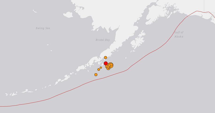 Alaskę nawiedziło trzęsienie ziemi
