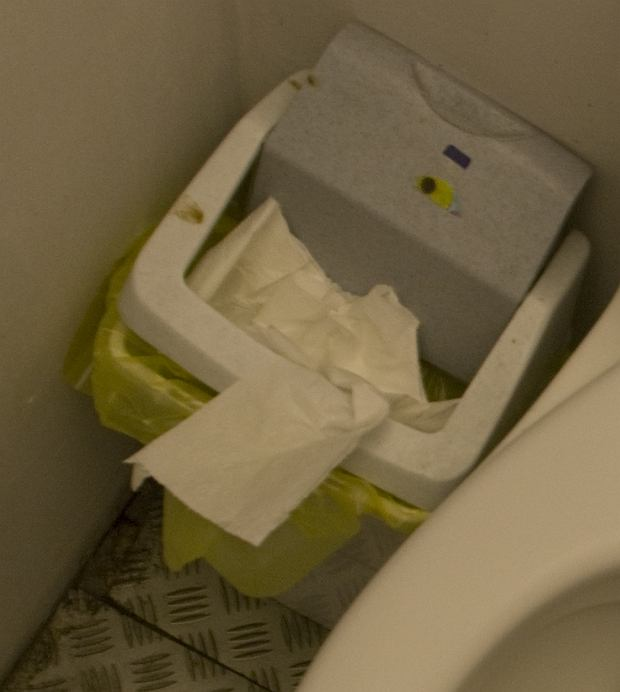 Toaleta w teatrze Imka