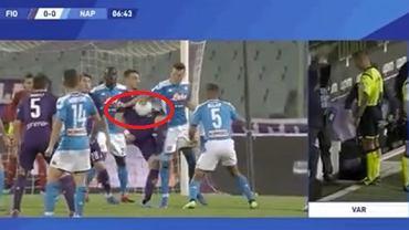 Kontrowersje w meczu Fiorentina - Napoli