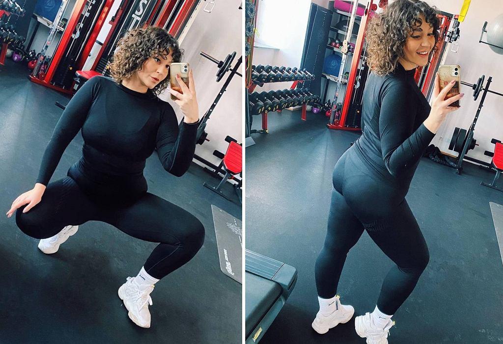 Joanna Cesarz na siłowni