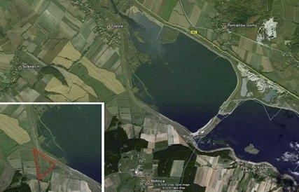 Działka nad zbiornikiem wodnym Topola