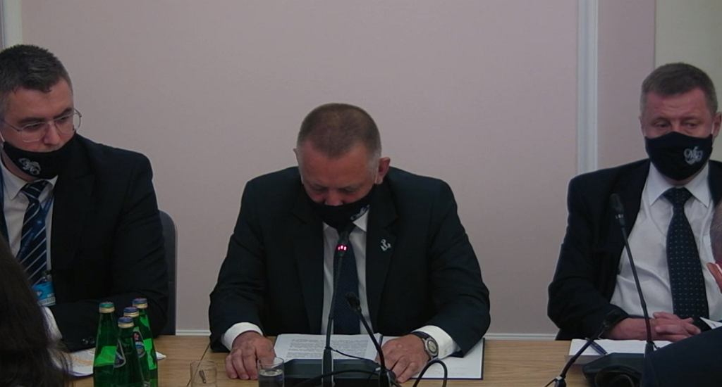 Marian Banaś na Komisja Administracji i Spraw Wewnętrznych