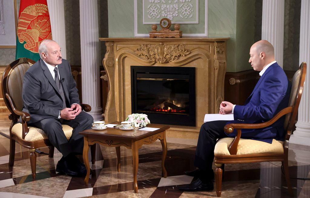 Prezydent Łukaszenka w wywiadzie dla dziennikarza ukraińskiego Dmitro Gordona.