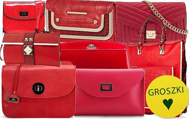 Kobieco: czerwone torebki - ponad 120 propozycji!