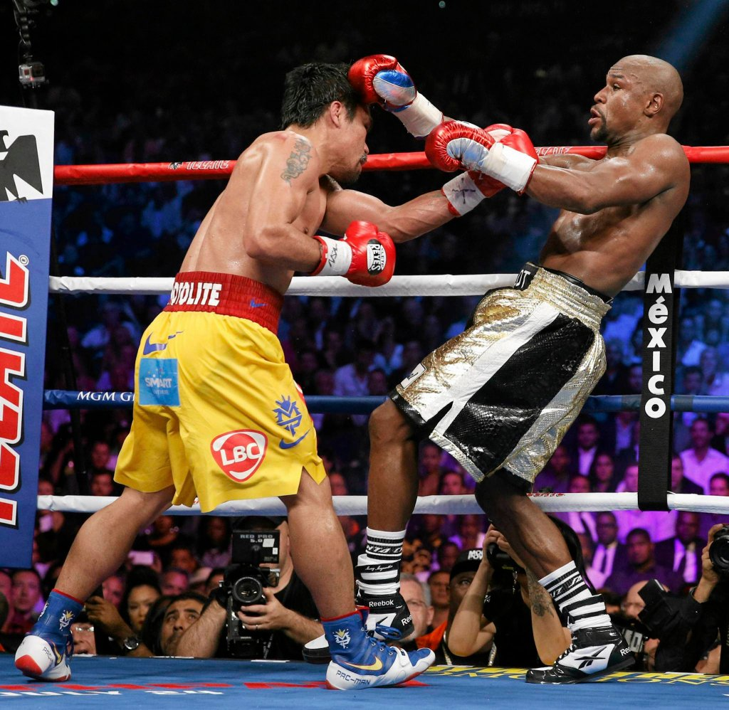 Floyd Mayweather Jr. - Manny Pacquiao