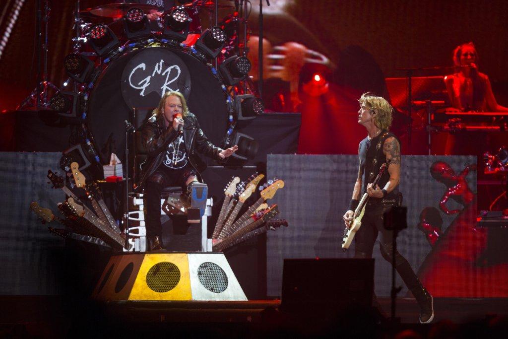 Guns N' Roses na festiwalu Coachella