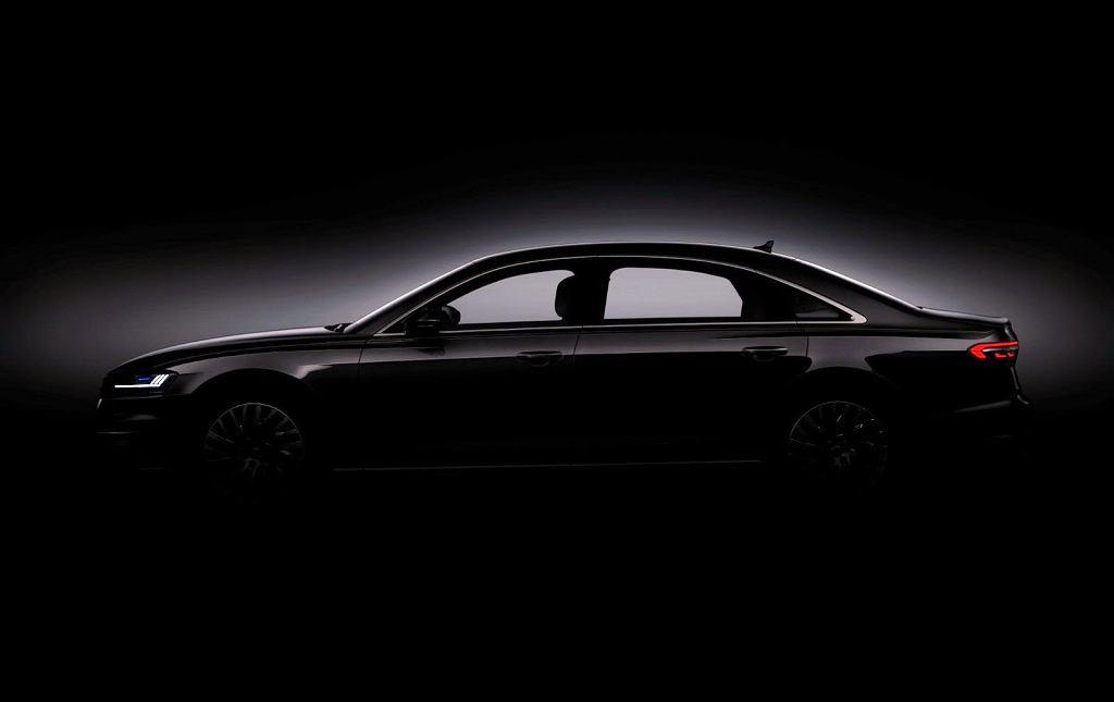 Audi A8 2017 teaser