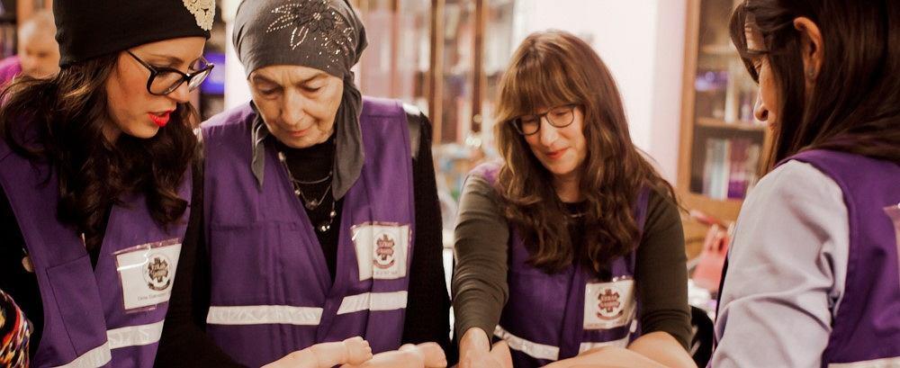 Wolontariuszki Ezras Nashim (fot. Domena publiczna)