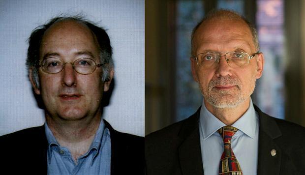 Prof. Dominic Lieven - wykłada na Uniwersytecie Cambridge, oraz prof. Andrzej Nowak - pracuje m.in. w Polskiej Akademii Nauk