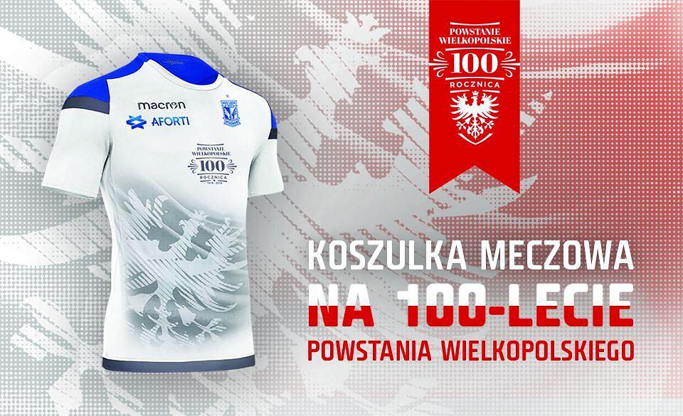 e21b4e7b6 Wyjątkowe koszulki Lecha Poznań na setną rocznicę wybuchu powstania  wielkopolskiego