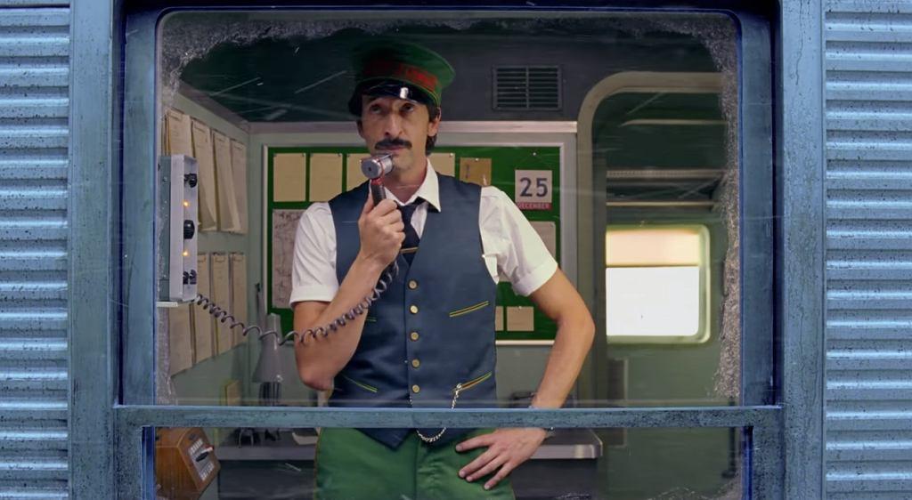 Adrien Brody w świątecznej reklamie H&M