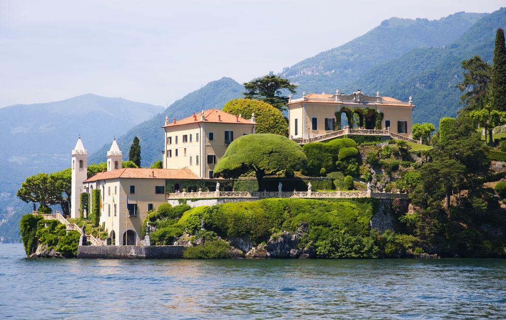 Villa de Balbianello na jeziorze Como, Włochy / fot. Shutterstock