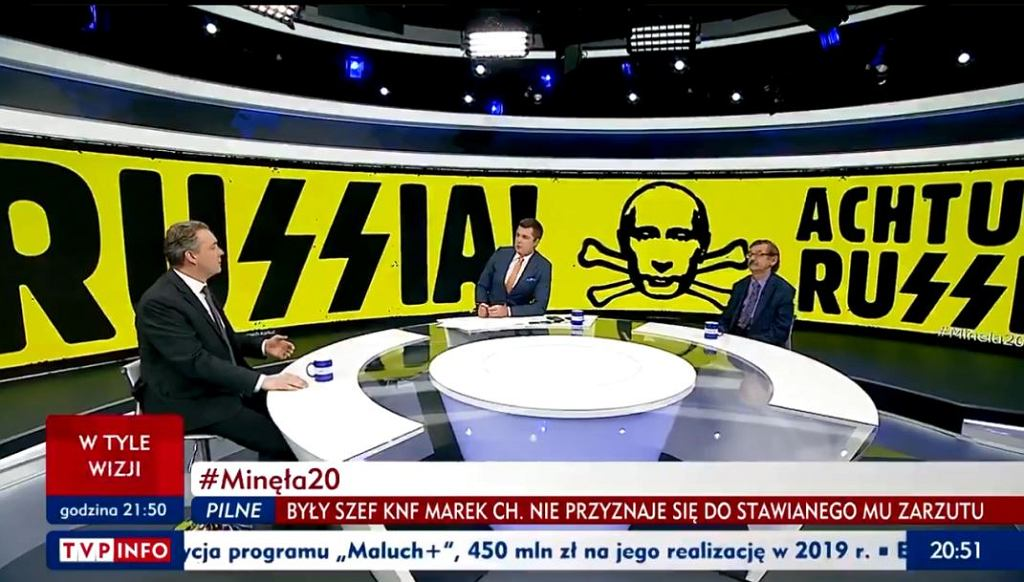 Program 'Minęła 20' w TVP Info