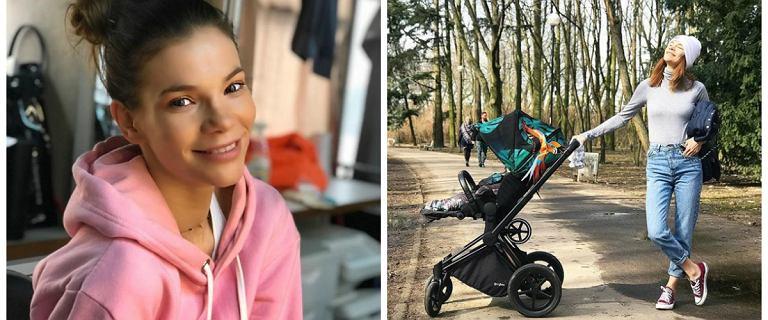 Maja Bohosiewicz poświęca tylko 20 minut na trening, a już widać sześciopak. Jak ćwiczy aktorka?