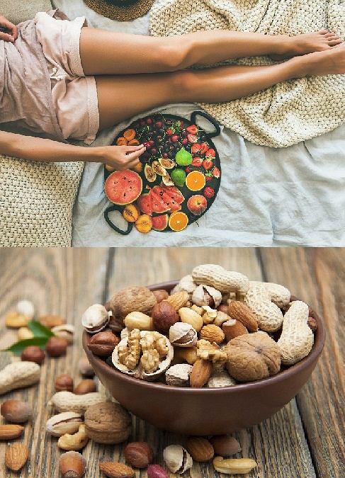 Owoce, warzywa i zdrowe przekąski