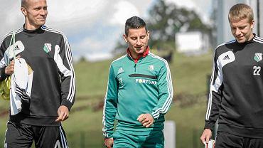 Od lewej Igor Lewczuk, Arkadiusz Piech i Michał Kopczyński