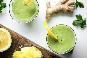 Detoks na zielonych koktajlach. 10 dni z oczyszczającymi smoothies