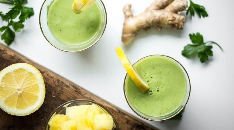 Detoks na zielonych koktajlach. 10 dni z oczyszczającymi smoothies I  Żywienie Myfitness