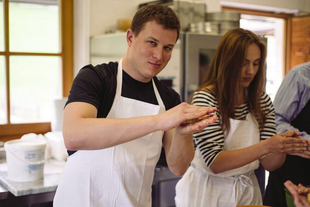 Lekcja gotowania w tyrolskiej kuchni