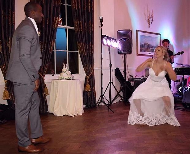 Ich weselny taniec podbił media społecznościowe