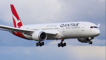 Boeing 787-9  'Kookaburra' linii Qantas.