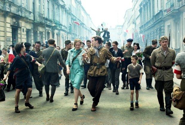 Kadr z filmu Jana Komasy