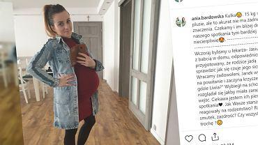 Ania Bardowska przytyła 15 kilogramów w ciąży