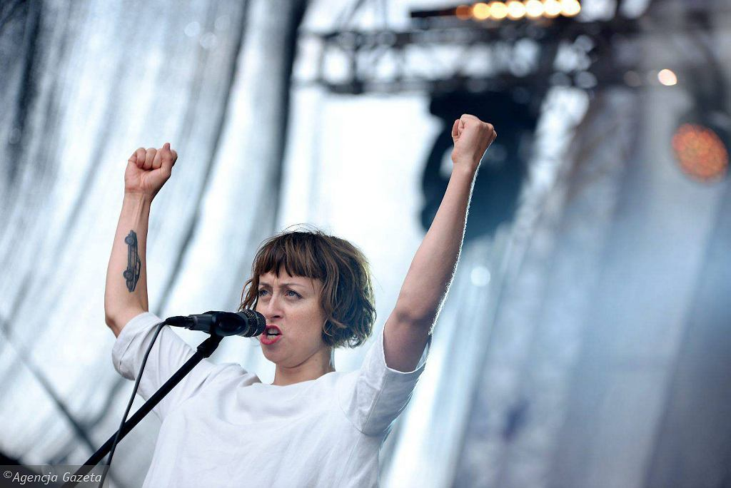 Natalia Przybysz podczas Olsztyn Green Festival 2017