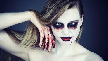 Halloweenowy make up musi być wyjątkowy. Zdjęcie ilustracyjne