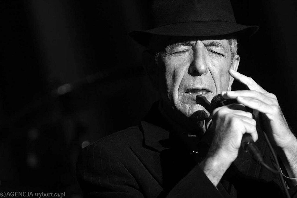 Koncert Leonarda Cohena, Hala Stulecia we Wrocławiu, 29.09.2008 / Fot. Łukasz Giza / Agencja Gazeta