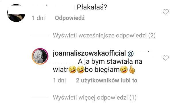 Komentarz Joanny Liszowskiej