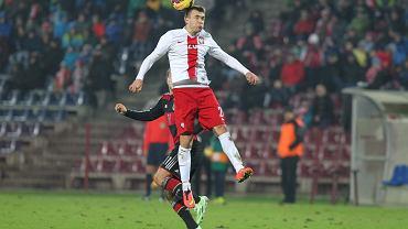 Mecz U20 Polska - Niemcy. Dariusz Formella