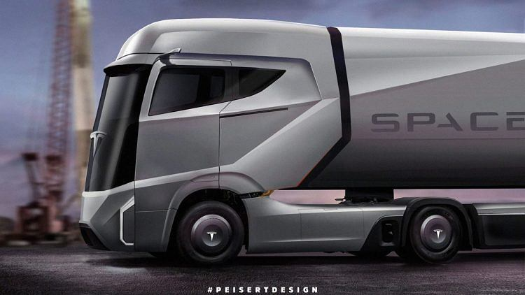 Koncept ciężarówki Tesli