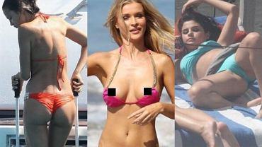 Irina Shayk, Joanna Krupa, Selena Gomez.
