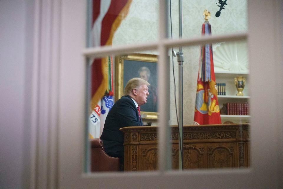 Prezydent Donald Trump wygłosił orędzie do narodu, 8.01.2019